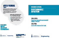 Cover of Sustainable Aviation Research Insert