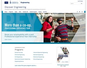 discover engineering homepage