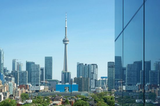 View of CN Tower from MY