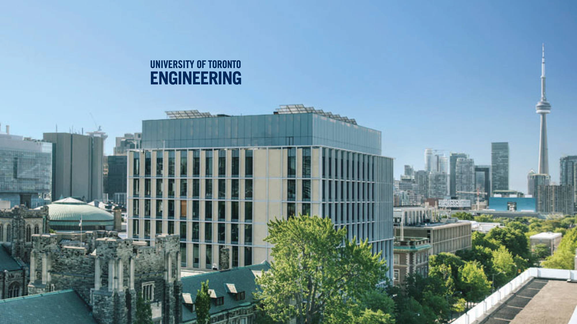 U of T Engineering – Myhal Centre Exterior Background